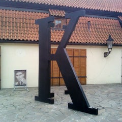 Photo taken at Franz Kafka Museum by Jean-Francois H. on 8/10/2012