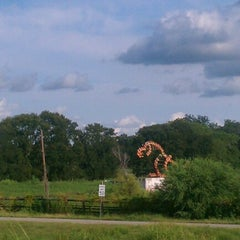 Photo taken at Dino Sculpture Monument by Kimberlee K. Heinsohn Henao H. on 8/19/2012