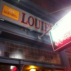 Photo taken at Louie's Italian Restaurant by Kelly M. on 3/10/2012