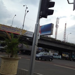 Photo taken at Perempatan Senen by Calvin S. on 3/10/2012
