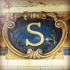 Photo taken at MTA Subway - Spring St (6) by A. on 6/22/2012