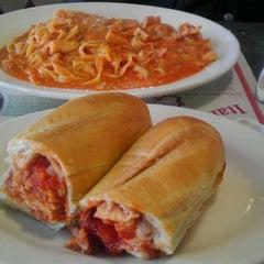 Photo taken at Fresco's Pizza & Pasta Restaurant by Jesus T. on 2/26/2012