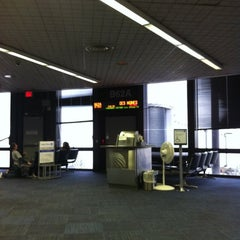 Photo taken at Gate B62A by Wendy V. on 3/28/2012
