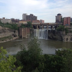 Photo taken at High Falls by Luke F. on 6/17/2012