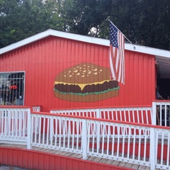 Photo taken at Little Bitty Burger Barn by Anthony F. on 7/25/2012
