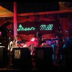 Photo taken at Green Mill Cocktail Lounge by Brooke T. on 8/3/2012