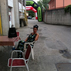 Photo taken at Stadio Velodromo Rino Mercante by Franca on 7/20/2012