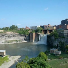 Photo taken at High Falls by Jordan B. on 9/3/2012