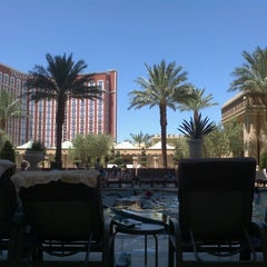 Photo taken at Palazzo Pool by manuel on 7/25/2012