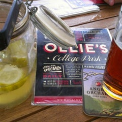Photo taken at Ollie's Public House by Meghan M. on 9/4/2012