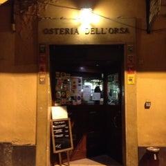 Foto scattata a Osteria dell'Orsa da Riccardo B. il 4/1/2012