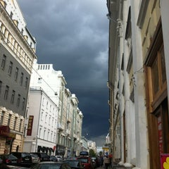 Photo taken at Большая Дмитровка by Denis F. on 7/20/2012