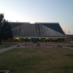 Photo taken at OSU Library Lawn by Zeb W. on 7/7/2012