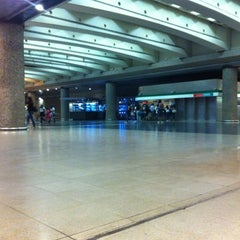 Photo taken at Metro Quinta Normal by Natalia G. on 3/14/2012
