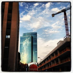 Photo taken at Quartiere Isola by Alessandro C. on 7/21/2012