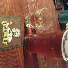Photo taken at Twain's Brewpub & Billiards by Phillip K. on 7/17/2012