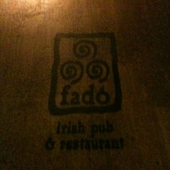 Photo taken at Fadó Irish Pub & Restaurant by Billy H. on 3/5/2012