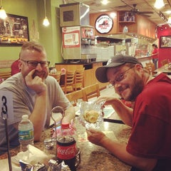 Photo taken at Eddie and Sam's Pizza by Aaron H. on 3/28/2012