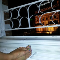 Photo taken at Hotel Nes by Ann Maxim on 8/18/2012