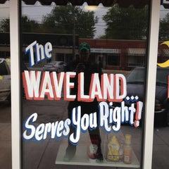 Photo taken at Waveland Cafe by Ryan on 4/28/2012