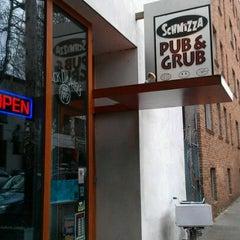 Photo taken at Schmizza Pub & Grub on 21st by Derek W. on 4/16/2012