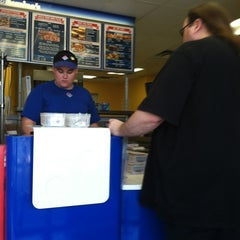 Photo taken at Domino's by Patricia Y. on 4/1/2012