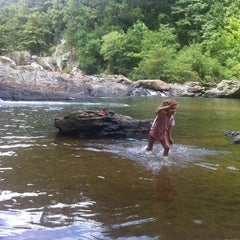 Photo taken at Chestatee River by Charles E. on 8/18/2012