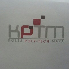 Photo taken at Kolej Universiti Poly-Tech MARA Kuala Lumpur by Melda F. on 6/18/2012