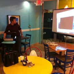 Photo taken at Newsworthy Cafe by Jon S. on 2/28/2012