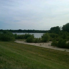 Photo taken at George Wyth Brinker Lake by Rebecca M. on 6/17/2012