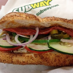 Photo taken at Subway by Billy on 8/4/2012