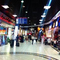 Photo taken at Bahrain International Airport (BAH) | مطار البحرين الدولي by Mohsin A. on 8/24/2012