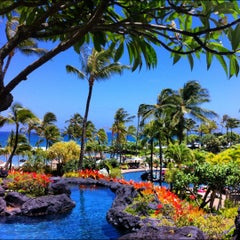 Photo taken at Grand Hyatt Kauai Resort and Spa by Trevor D. on 5/27/2012