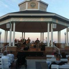 Photo taken at Rehoboth Beach Bandstand by Gardner G. on 6/17/2012