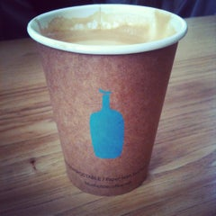 Photo taken at Blue Bottle Coffee by sora y. on 6/4/2012