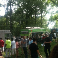 Photo taken at Food Truck Friday @ Tower Grove Park by Michele R. on 5/11/2012