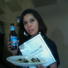Photo taken at Oaxaca restaurante y cantina by Jessica G. on 6/23/2012