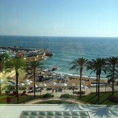 Photo taken at Mövenpick Hotel Beirut by Jennifer H. on 6/23/2012
