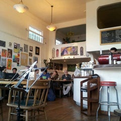 Photo taken at Mercury Cafe by Ethan F. on 3/10/2012