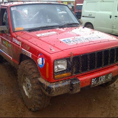 Photo taken at Sirkuit Offroad Harvest City by Robi S. on 4/21/2012