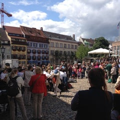 Photo taken at Augustinerplatz by Andrew B. on 7/14/2012
