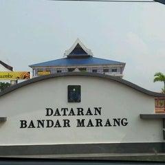 Photo taken at Dataran Bandar Marang by RZLN R. on 3/28/2012