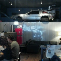Photo taken at The Wormhole Coffee by Benjamin S. on 8/12/2012