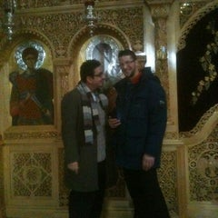 Photo taken at St Demetrious Orthodox Church by Garry k. on 2/12/2012