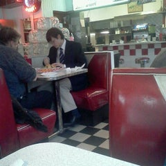 Photo taken at Tom's Diner by Lindsay K. on 2/4/2012