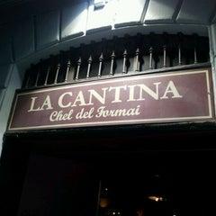 Photo taken at La Cantina by Francesca C. on 3/7/2012