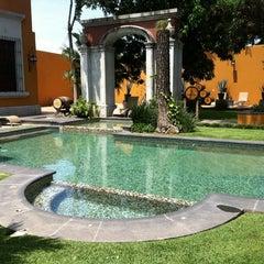 Photo taken at Hotel Los Abolengos by Diego B. on 9/1/2012