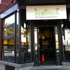 Photo taken at Arepera by Ryan L. on 9/3/2012
