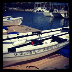 Photo taken at Whitehall Spirit Rowing Club Marina Del Rey by Adam R. on 3/21/2012
