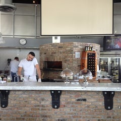 "Photo taken at Andiamo! Brick Oven Pizza by Marino ""Cleezy"" M. on 5/11/2012"